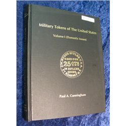 1361. Hard Bound Book Military Tokens of the United States 1995 Volume-1