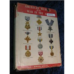 1370. Hard Bound Book. 1943  American Heroes of the War in the Air.