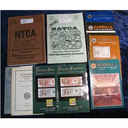 1374. (10) Publications Tokens and Barrilla (Philippines Money Museum Booklets)