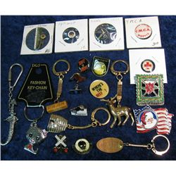 1481. Group of Pins, Badges and Misc.