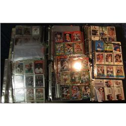 1518. Over 1400 Sports cards, 100'S Blank Pages & Papers.