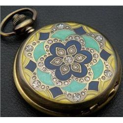 Flower Wedding Quartz Unisex Pocket Watch MWF1818