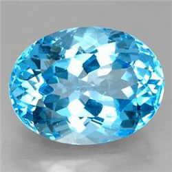 21.7ct Swiss Blue Topaz