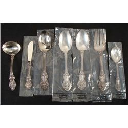7 Pc Reed & Barton Silver Plated Serving Set