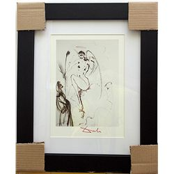 ORIGINAL HAND SIGNED SALVADOR DALI