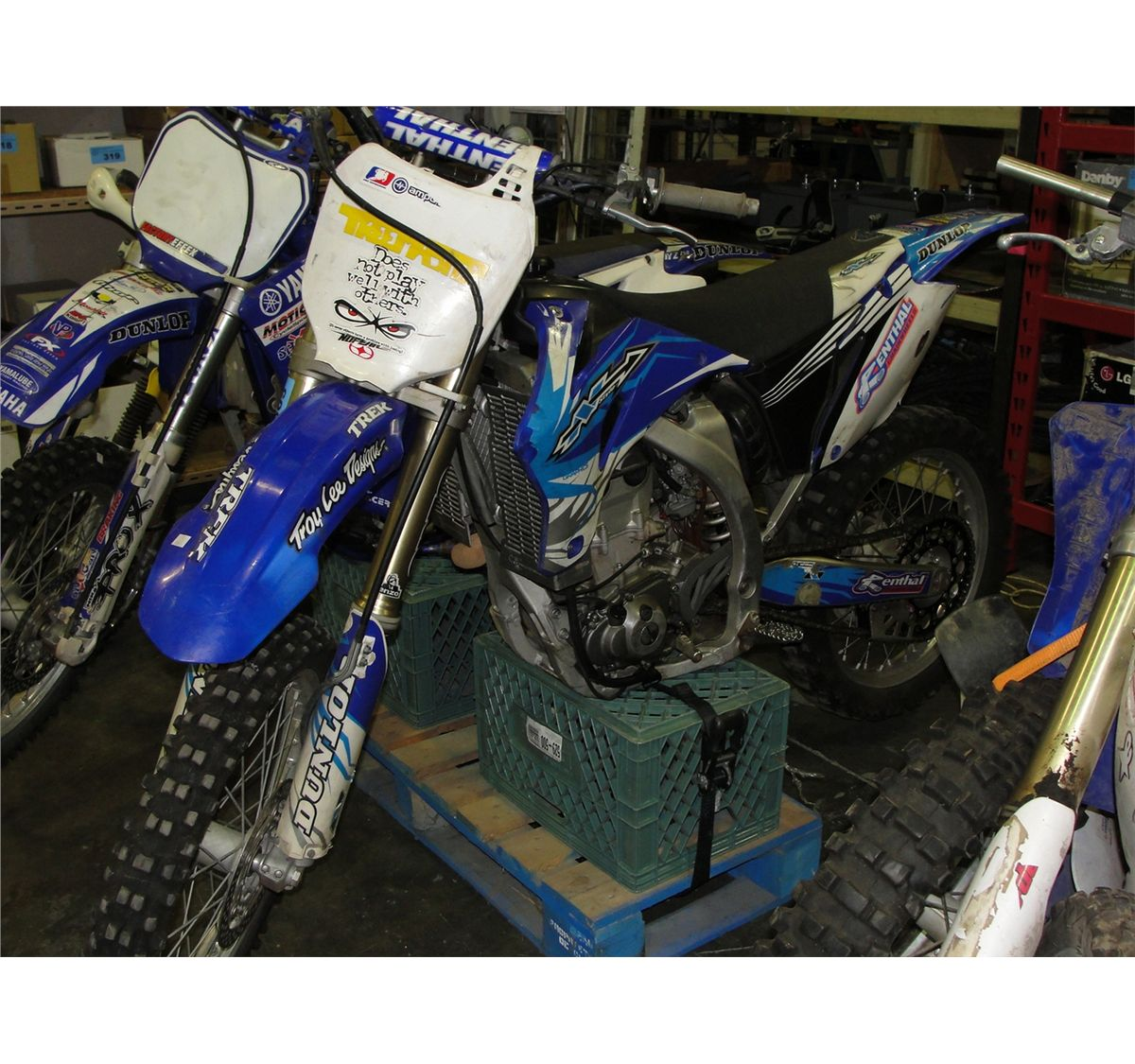 yamaha n series motocross dirtbike