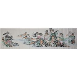 Set of Three Chinese Script Calligraphy Paintings