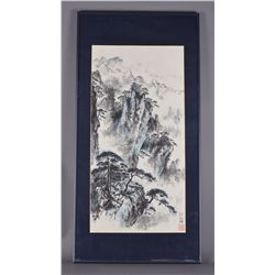 Framed Chinese Watercolour Painting