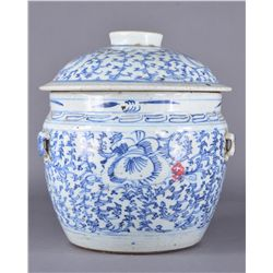 18th/19th C. Chinese Blue & White Ginger Jar