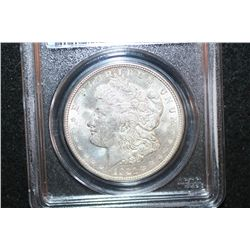 1921-D Silver Morgan $1; PCGS Graded MS60
