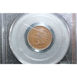 1869 Indian Head One Cent; PCGS Graded F12