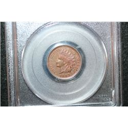 1907 Indian Head One Cent; PCGS Graded Genuine