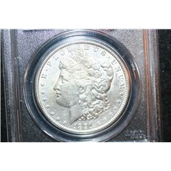 1891 Silver Morgan $1; PCGS Graded Genuine
