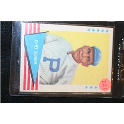 MLB F.H.F. Chief Bender Baseball Greats Baseball Trading Card