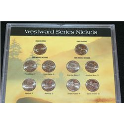 2004-2005 Westward Series Nickel Set; P&D Mints; Lot of 10