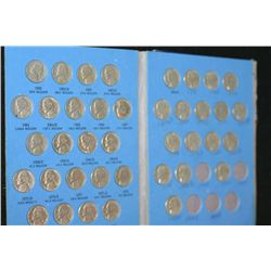 Whitman Coin Folder Jefferson Nickel Collection Starting 1962, Number 2; Incomplete Set