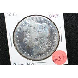 1895-O Silver Morgan $1; Polished, Key Date