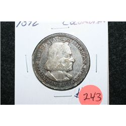 1893 US Columbian Half Dollar; World's Columbian Exposition Chicago