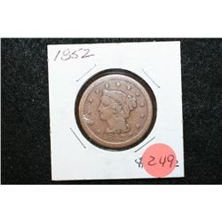 1852 Large One Cent