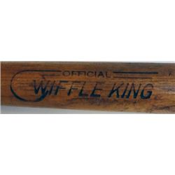 1954 WOODEN WIFFLE KING MADE BY WIFFLE BALL INC.