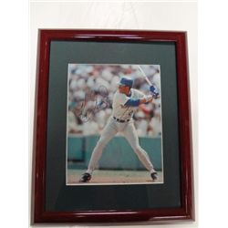 KEN GRIFFEY JR. AUTOGRAPHED 8X10 PHOT IN NICE MATTED FRAME