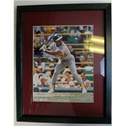 RICKY HENDERSON AUTOGRAPHED 8X10 PHOTO
