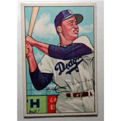 1952 Bowman #116 Duke Snider EX Great Color & Gloss