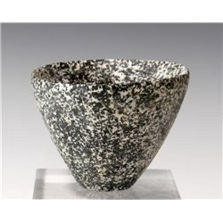 An Egyptian Diorite Libation Cup