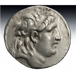 A Greek Ar Silver Tetradrachm Antiochos VII