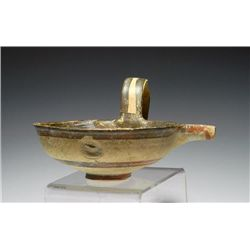A Greek Mycenaean Spouted Bowl