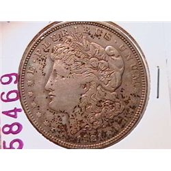 1921-D Morgan Dollar XF40