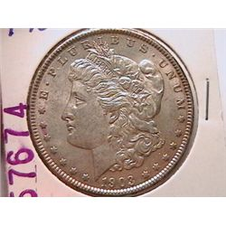 1903 Morgan Dollar AU50