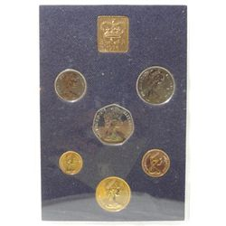 1976  Coinage Of Great Britain-Northern Ireland