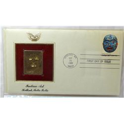 22KT Gold Replicas Of U.S First Day Issue Stamps