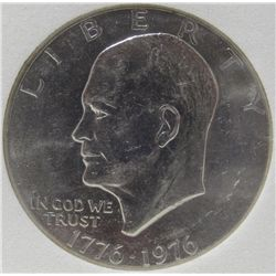 "1976 Clad ""Ike"" Dollar MS-69 w/Appraisal"