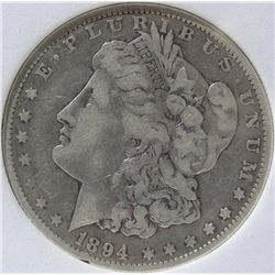 1894 Micro-O Morgan Silver Dollar TAS MS66