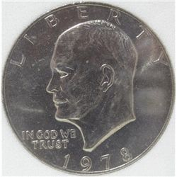 1978 Clad Eisenhower Dollar MS-69 w/Appraisal