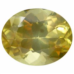 5.64ct Natural Yellow Andesine (GEM-19637)