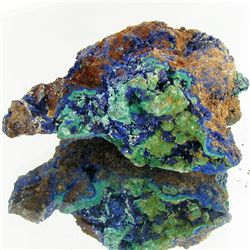 345ct Azurite Crystal Cluster (MIN-001261)