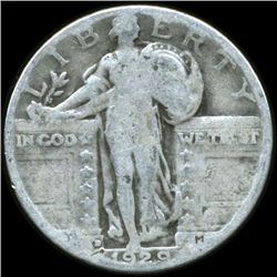 1929D Standing Liberty Quarter Circulated (COI-10669)