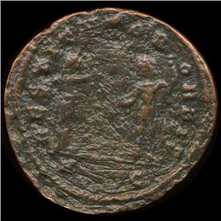 300AD Roman Bronze Coin Higher Grade (COI-9089)