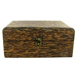 Handcrafted Sugar Palm Jewelry Box (DEC-570)