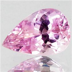 5.8ct Sparking Top Pink Kunzite Pear (GEM-43713)