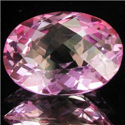 22.47ct Pure Pink Oval Topaz (GEM-28661)