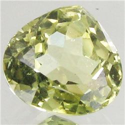 6.55ct Strong Green Kunzite Trillion (GEM-43143)