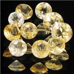5.1ct Lemon Citrine Round Parcel (GEM-40283)