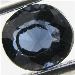 0.75ct Clean Blue Spinel Oval (GEM-29319B)