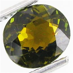 1.88ct Oval Cut Green Color Tourmaline Mozambique (GEM-29792)