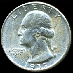 1935 Washington 25c MS63 (COI-10689)