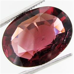 14.42ct  Oval Cut Red Tourmaline (GEM-33458)